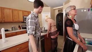Mommy added to Stepsis Three-Way after brainwash - Leilani Lei Fifi Foxx