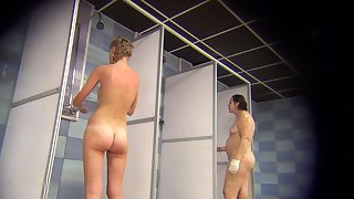 Voyeur Auntie Teen Shower