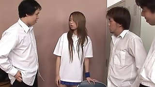 Obscene japanese nubile group-fucked Monitor Their way Tennis Tryouts sexvideo